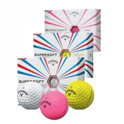 Balles de golf Callaway Supersoft logotées