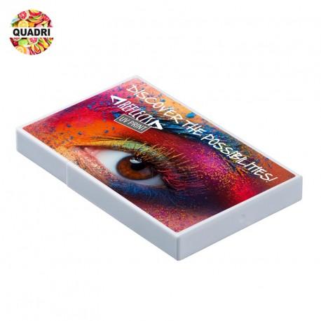 Porte cartes de visite plastique personnalisé