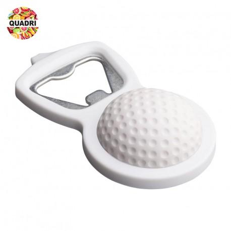 Décapsuleur golf en plastique métal mousse plastique personnalisé