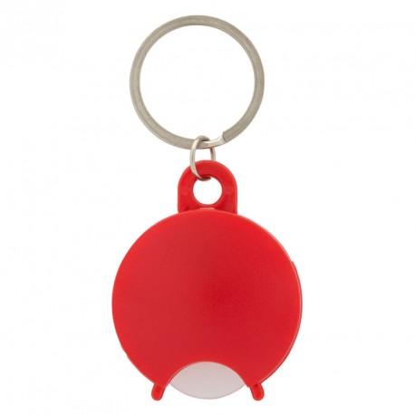 Porte-clés jeton de chariot en plastique personnalisé
