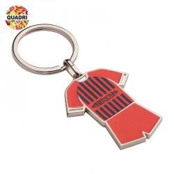 Porte-clés tee-shirt en métal  personnalisé