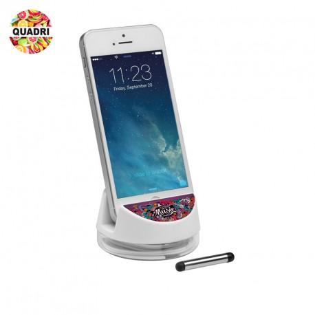 Porte-téléphone avec écouteurs en plastique personnalisé