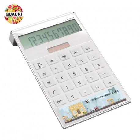 Calculatrice solaire personnalisée