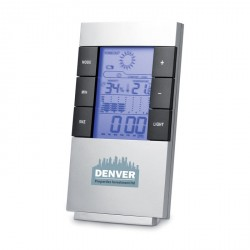 Station météo et horloge personnalisable
