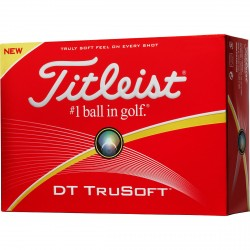 Balles de golf Titleist DT True personnalisables