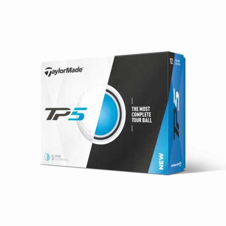 Balles de golf Taylor Made TP5 personnalisables