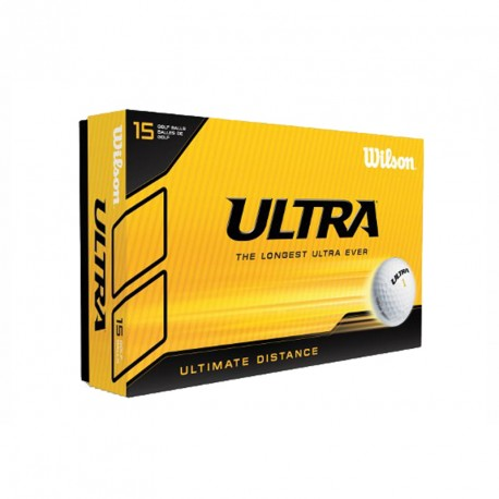 Balles de golf Wilson Ultra Ultimate blanche personnalisables