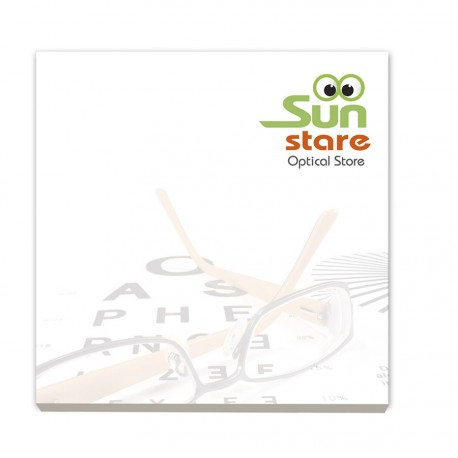 BIC® 75 mm x 75 mm Adhesive Notepads Ecolutions®