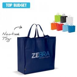Grand sac shopping non-tissé personnalisé