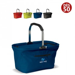 Sac isotherme panier pliable