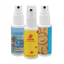 Spray désinfectant mains personnalisé