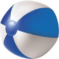Ballon de plage bicolore personnalisé