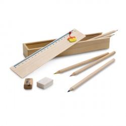 Set de crayons de couleur personnalisés