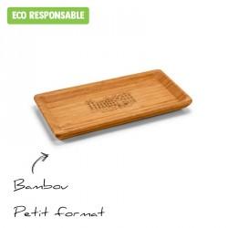 Plateau en bambou personnalisé - petit format