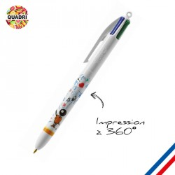 Stylo BIC® 4 Couleurs marquage Digital