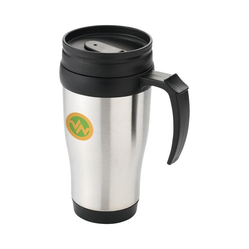 Personnalisable Mug Thermos Métallique Métal Publicitaire cqLS354AjR