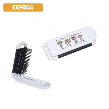 Brosse à cheveux publicitaire - EXPRESS