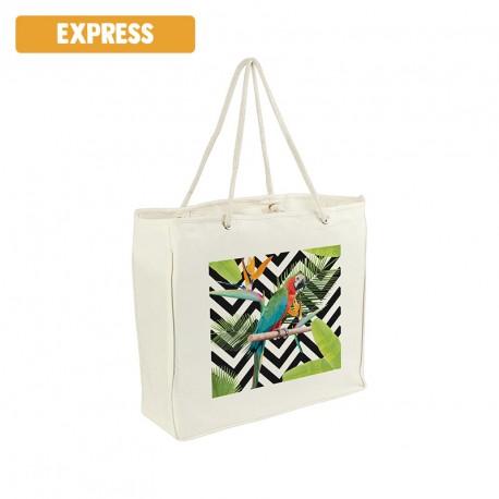 Sac shopping fibre de bambou personnalisé - EXPRESS