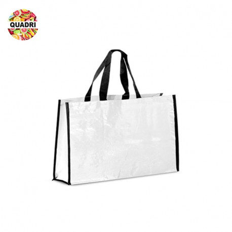 Grand sac shopping publicitaire configurable