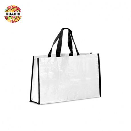Grand sac shopping publicitaire configurable
