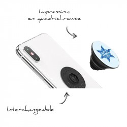 Support téléphone Popsockets interchangeable