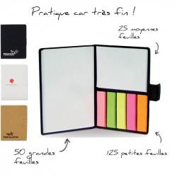 Carnet Eco avec papier repositionnable