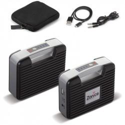 Chargeur batterie & haut-parleur personnalisé