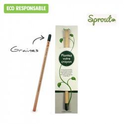 Crayon Sprout™ personnalisé - Etui standard