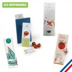 Marque-page végétal personnalisé