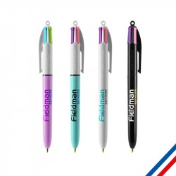 Stylo 4 Couleurs BIC Fashion publicitaire