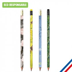 Crayon papier BIC® gomme impression photo