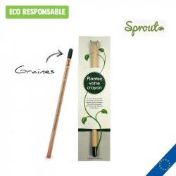 Crayon Sprout personnalisé - Etui standard
