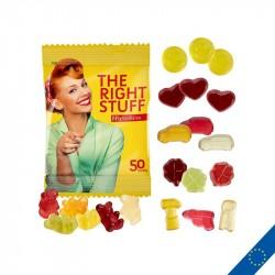 Bonbons gommes de fruit personnalisés