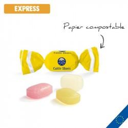 Bonbons EXPRESS en papillote personnalisée