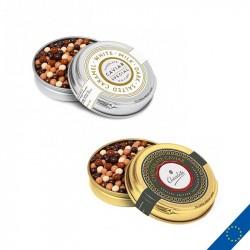 Boîte en métal personnalisée de perles de chocolat