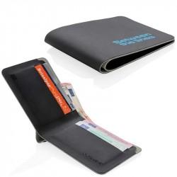 Portefeuille anti RFID personnalisé Casual
