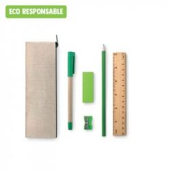 Trousse complète personnalisable en matières éco responsables