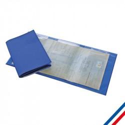 Porte carte grise 3 volets personnalisable