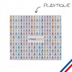 Tapis de souris plastifié publicitaire