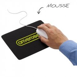 Tapis de souris souple personnalisé