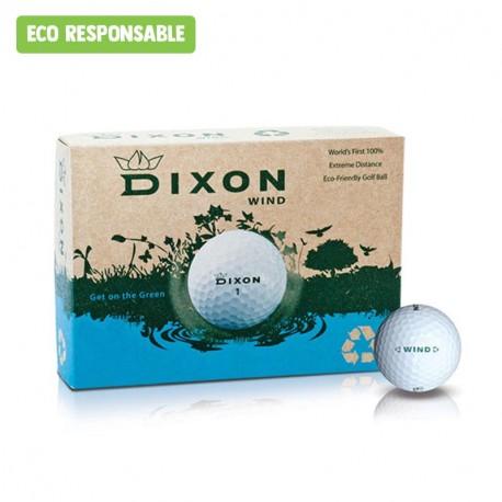 Balle de golf Dixon éco-responsable personnalisée