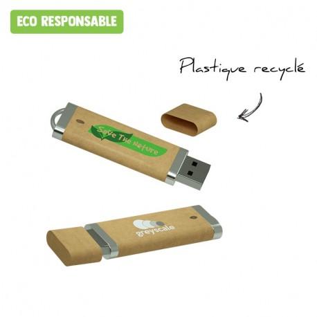 Clé USB recyclée personnalisée