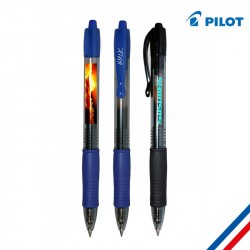 Stylo publicitaire Pilot G2 Roller Gel - Made in France