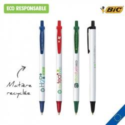 Stylo personnalisé BIC Ecolutions Clic