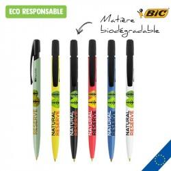 Stylo bille BIC® Media Clic BIO personnalisé