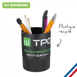 Pot à crayons plastique recyclé