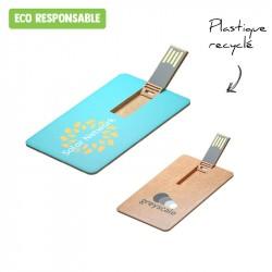 Clé USB plate recyclée personnalisée