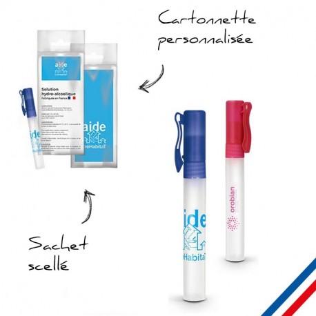 Spray antibactérien personnalisé