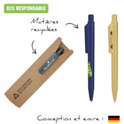 Parure stylo et étui écologique personnalisé