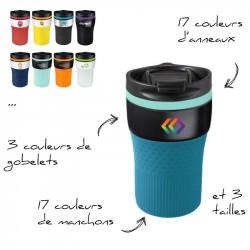 """Mug isotherme personnalisé """"Colors"""""""